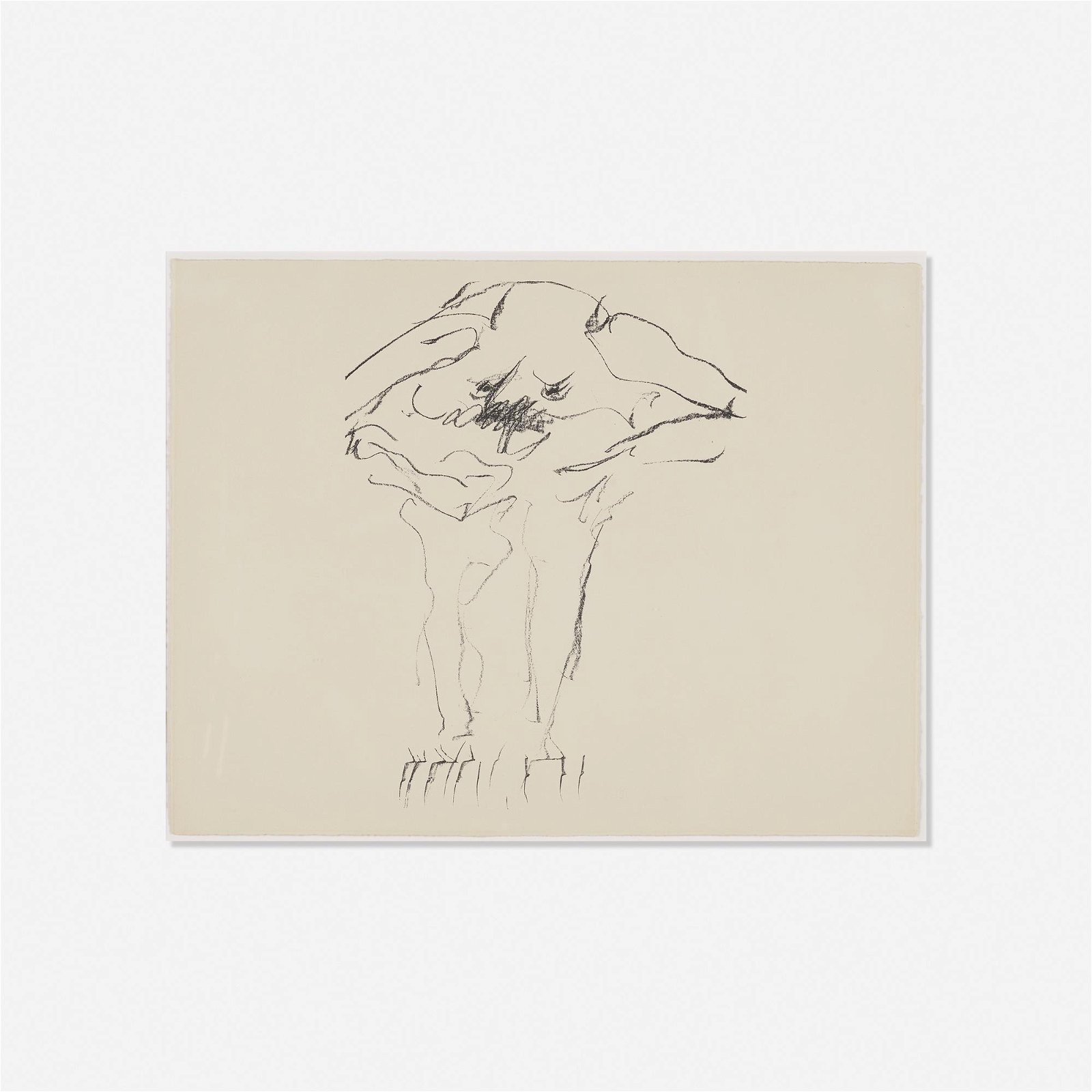 Willem de Kooning, Clam Digger from Portfolio 9