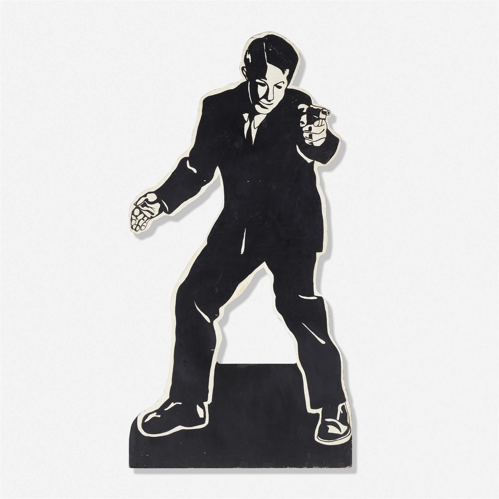 American, Theatrical cut-out figure
