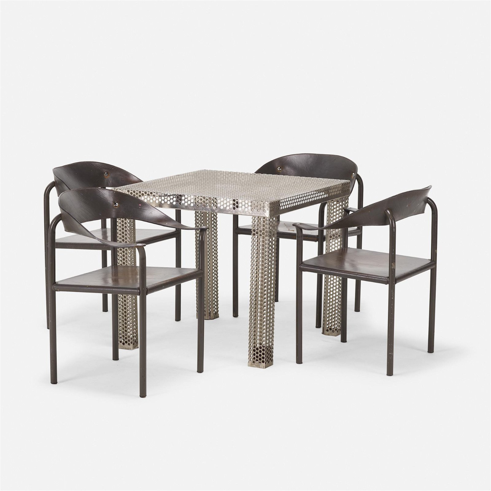 Modern, table and chairs, set of four
