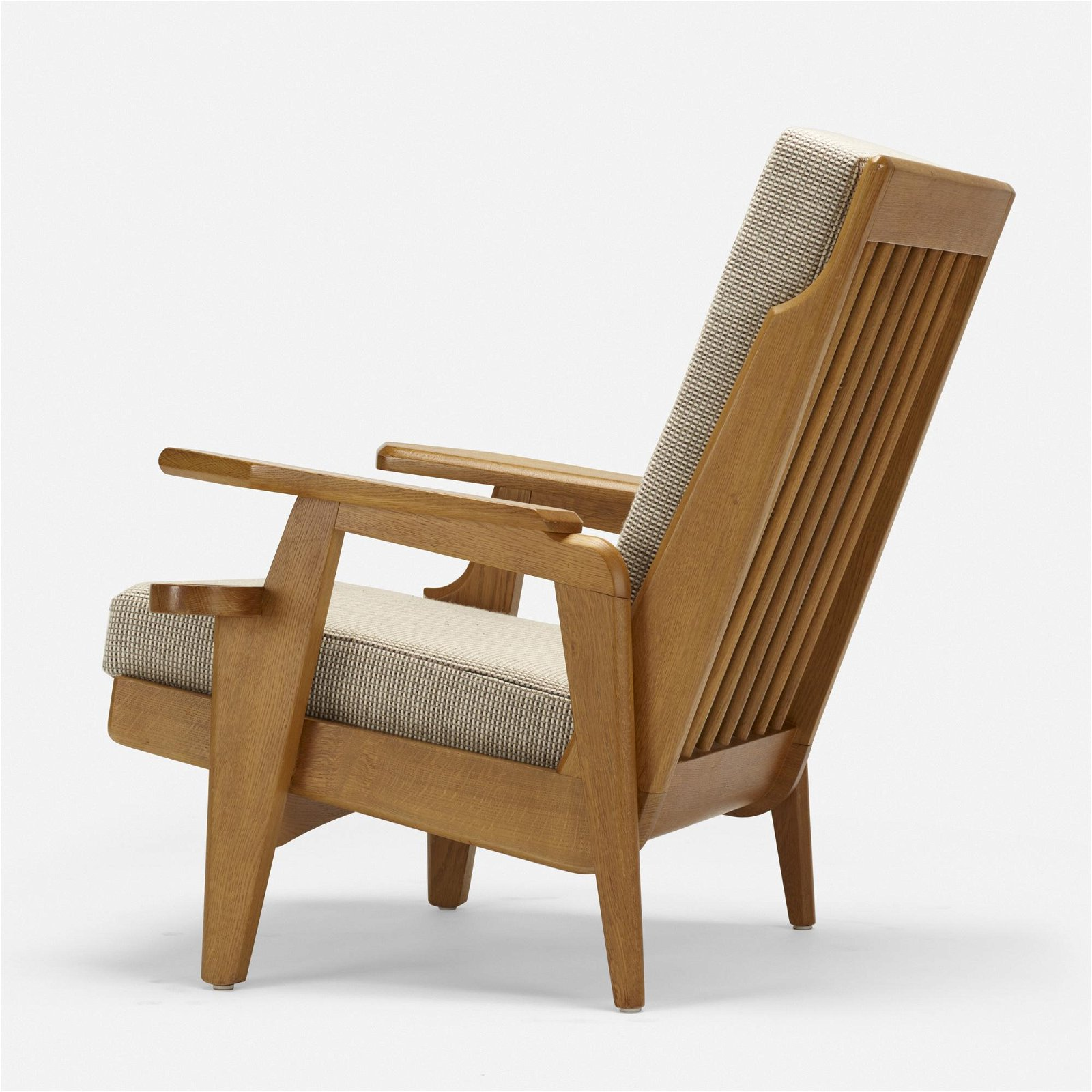 Robert Guillerme, attribution, lounge chair