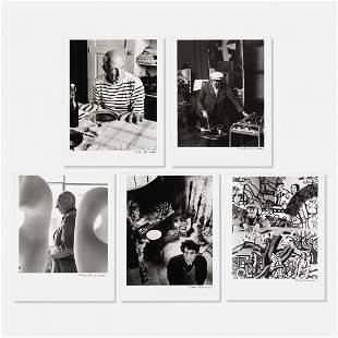 Robert Doisneau, Five artist portraits