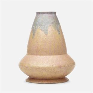 Roseville Pottery, Rare Carnelian II vase