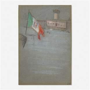 Arthur Beecher Carles, Venetian Scene