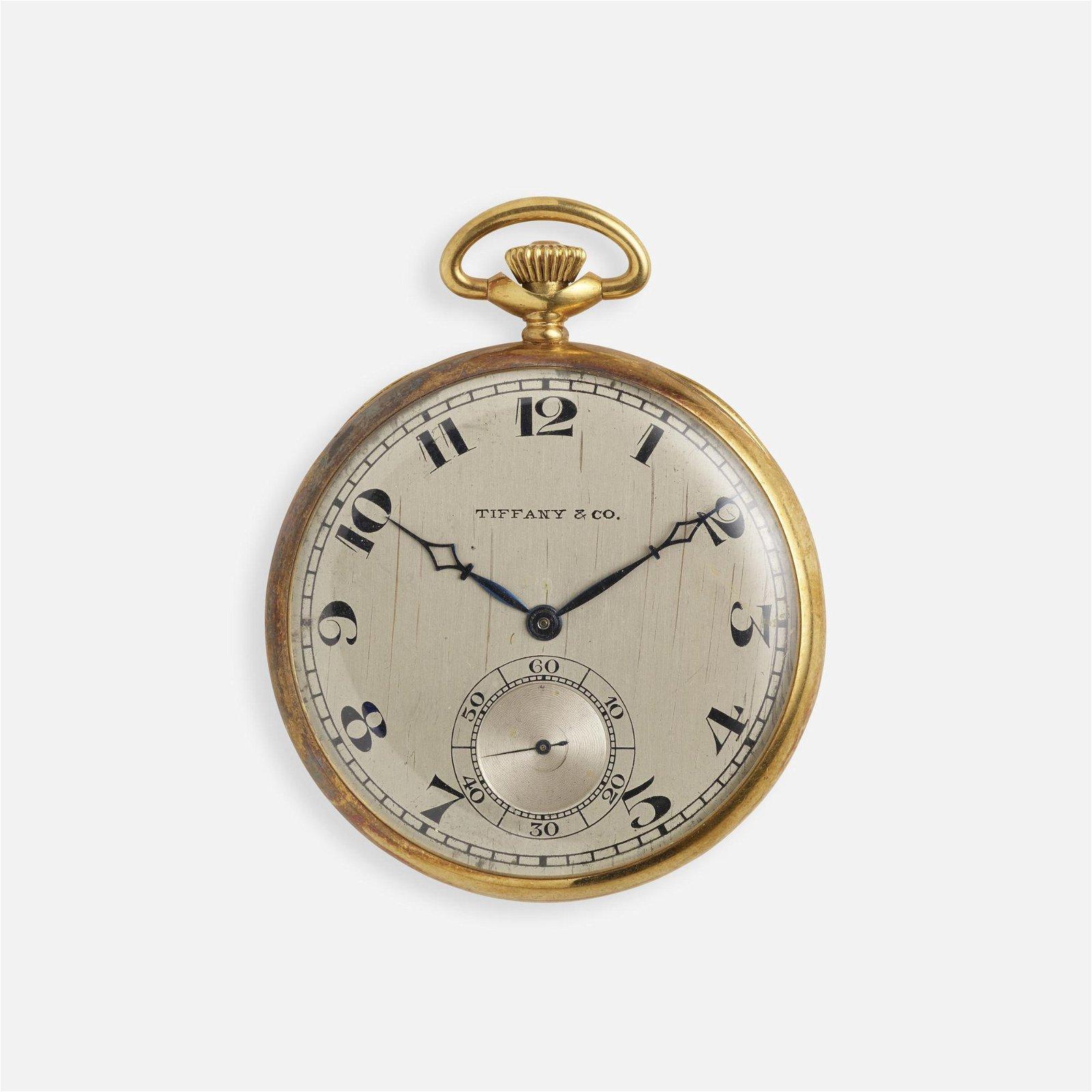 Tiffany & Co., Gold pocket watch
