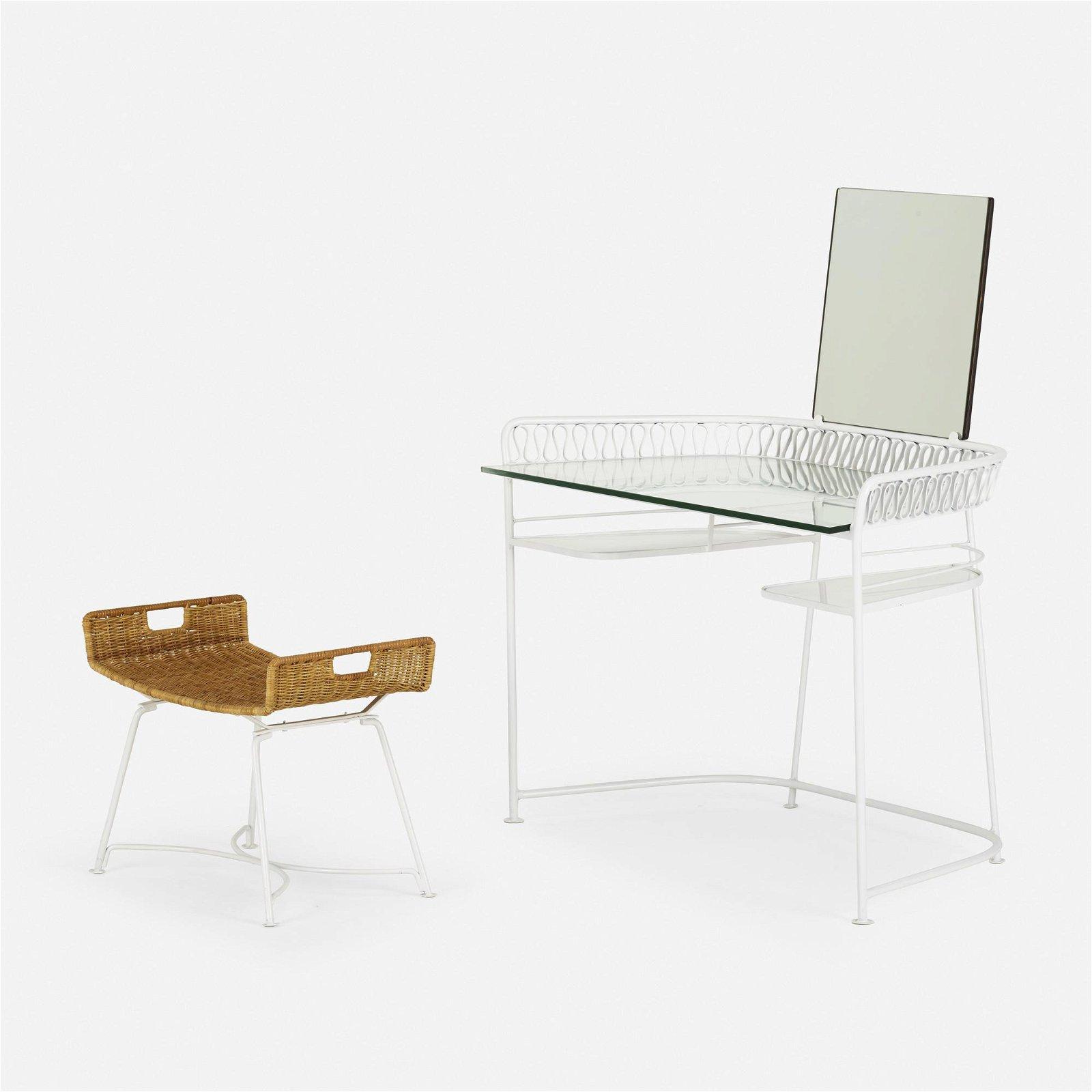 Maurizio Tempestini, Ribbons vanity and Neva-Rust bench