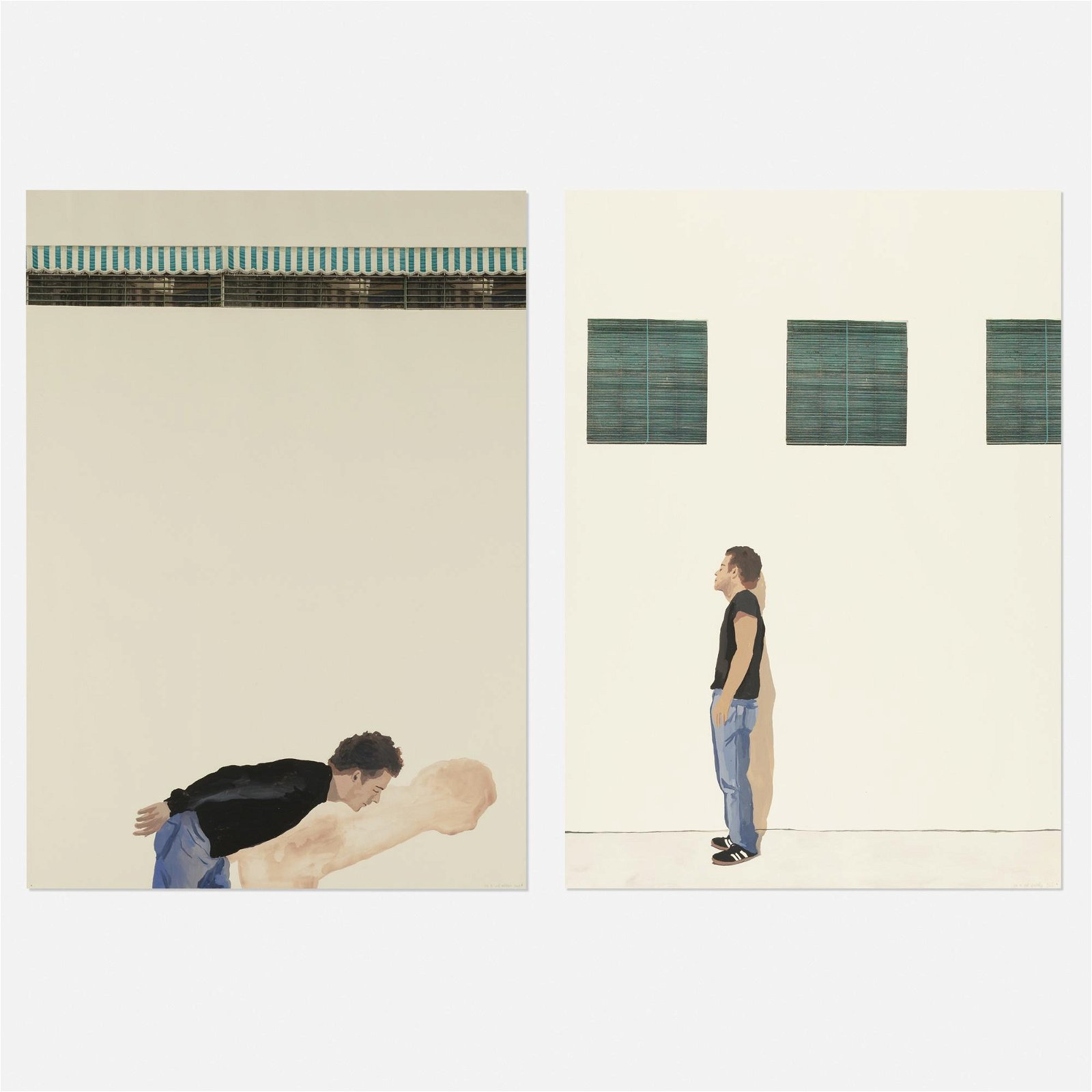 MP & MP Rosado, Untitled (two works)