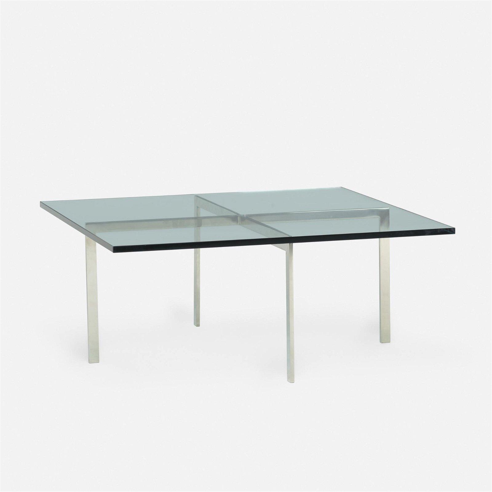 Ludwig Mies van der Rohe, Barcelona coffee table