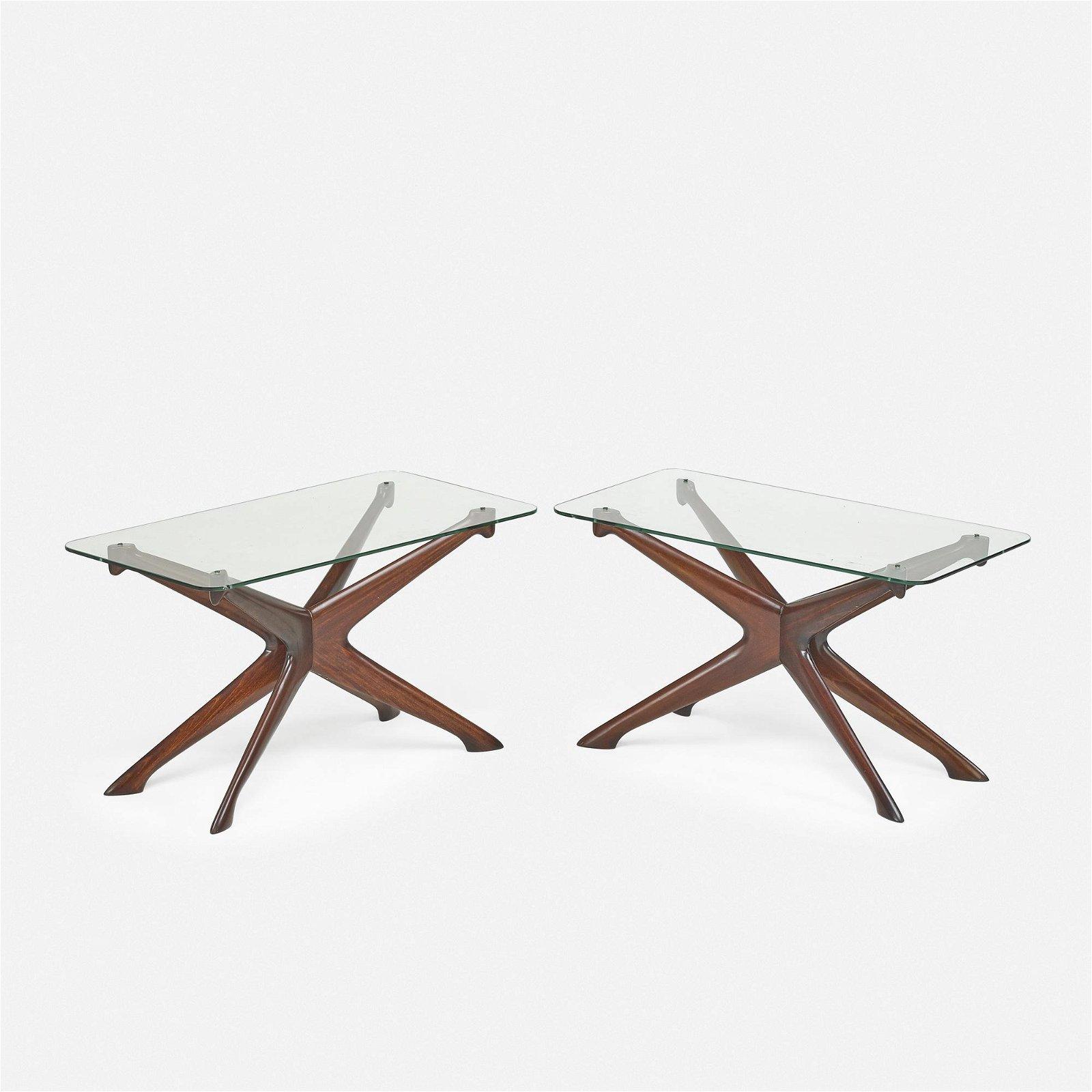 Ico and Luisa Parisi, attribution, tables