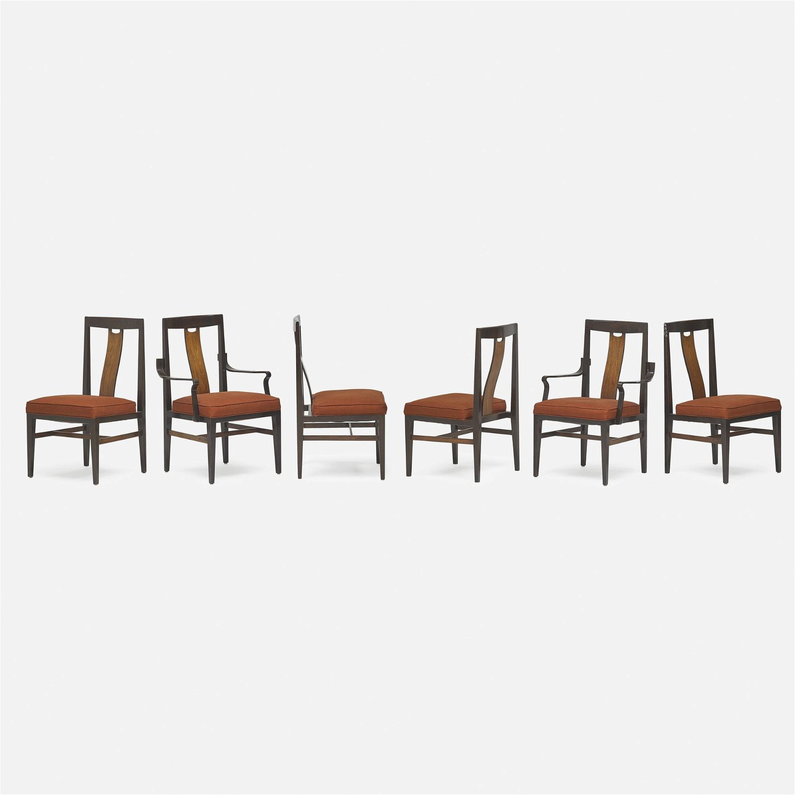 In the manner of Edward Wormley, dining chairs