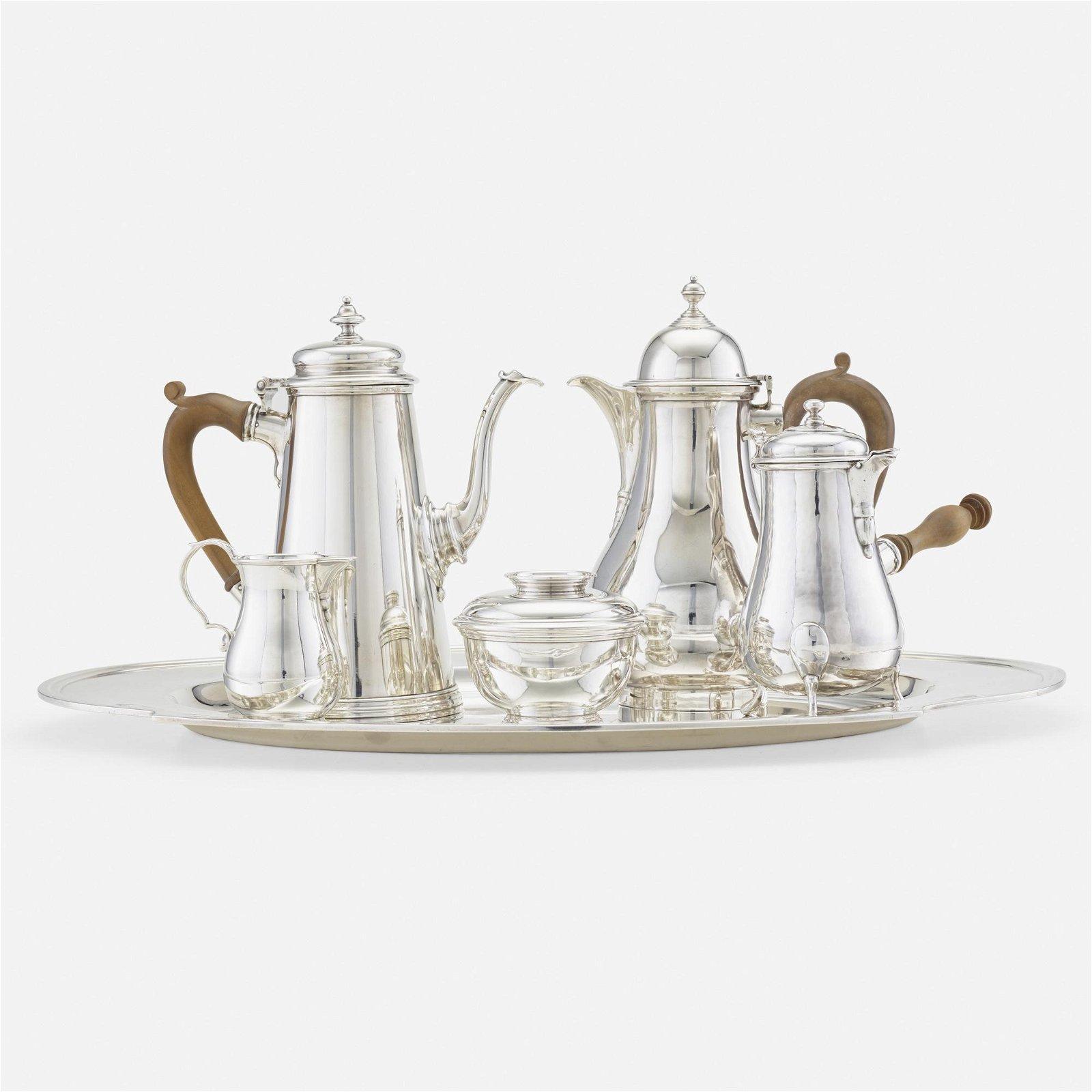 Black, Starr and Gorham, three-piece coffee service