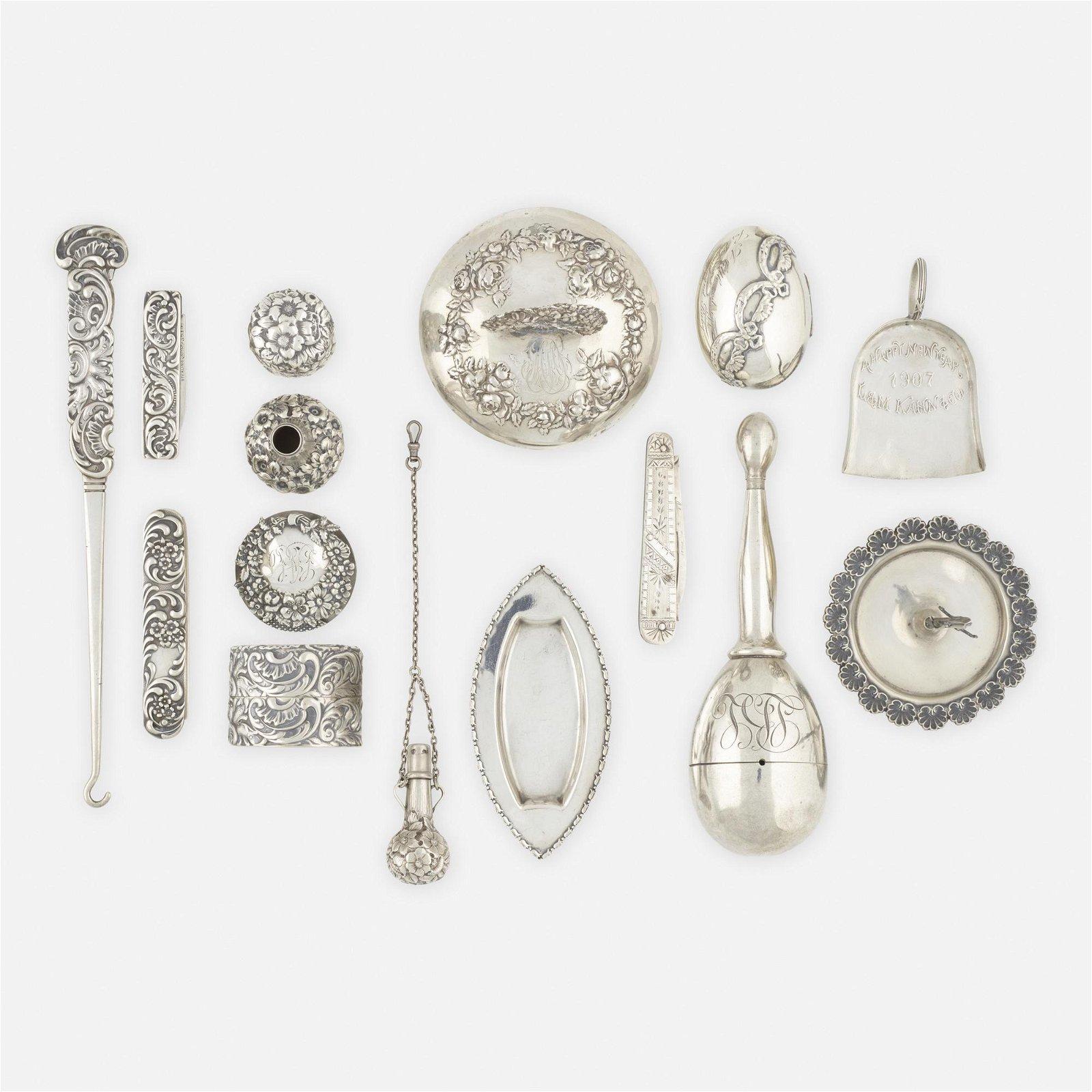 George W. Shiebler & Co., silver objects