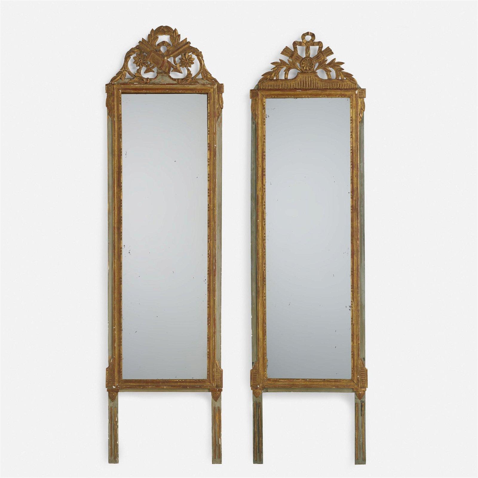 Louis XVI, pier mirrors, set of two