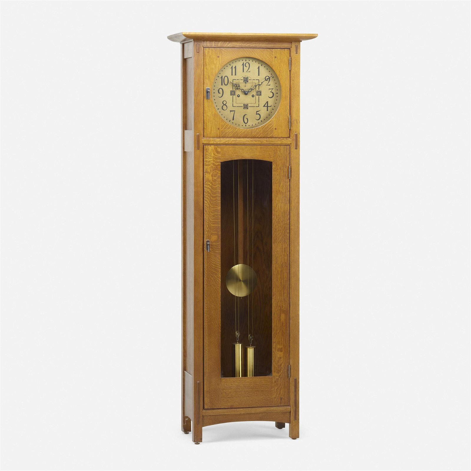 L. & J.G. Stickley, contemporary clock
