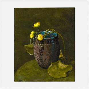 Ben Foster, Yellow Flowers in a Vase