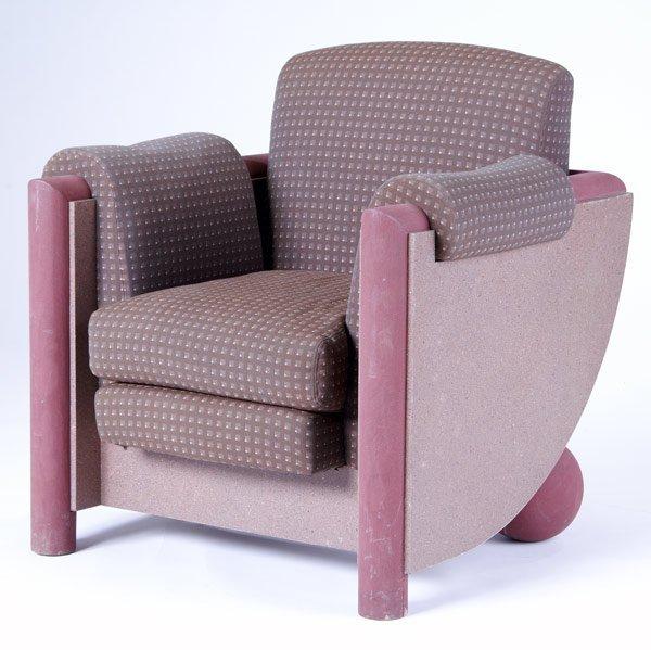 4A: VLADIMIR KAGAN Upholstered armchair