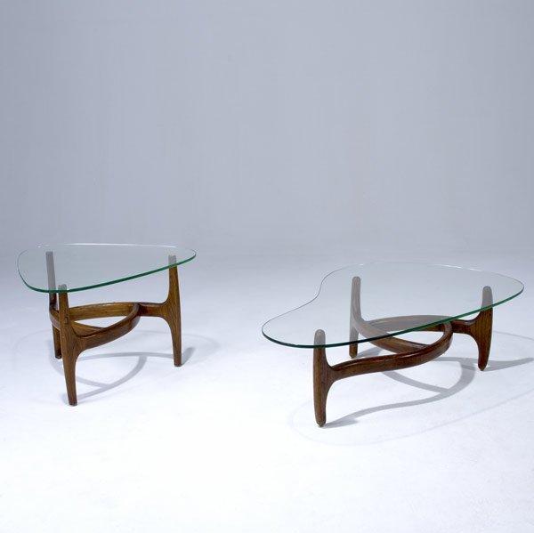 5: STYLE OF KAGAN Freeform coffee table