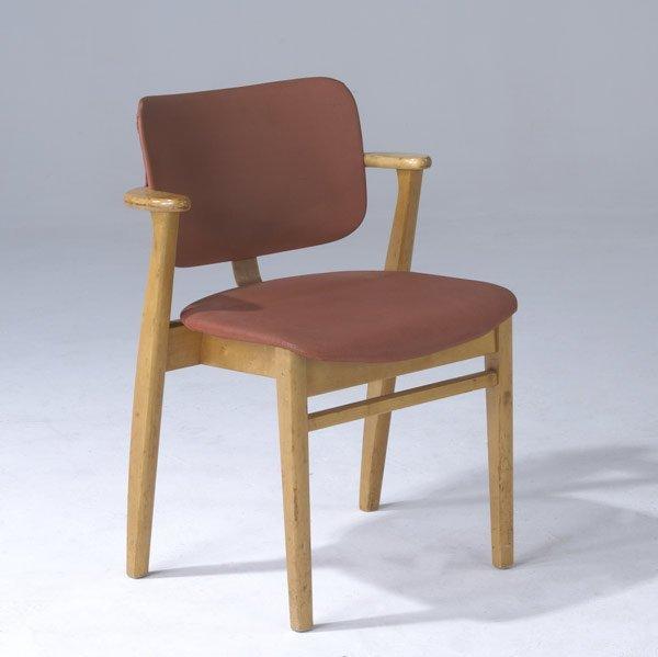 19: ILMARI TAPIOVAARA / KNOLL Birch side chair