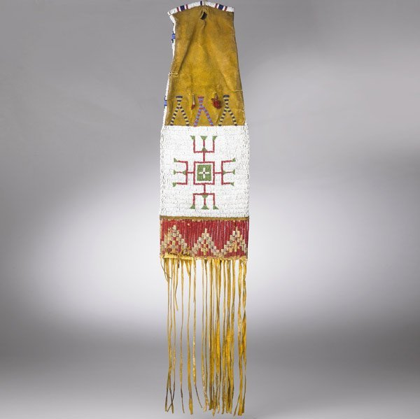 9: ARAPAHO BEADED PIPE BAG, MIDWEST