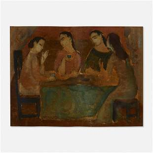 Max Weber, Four Seated Figures
