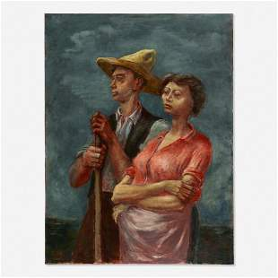 Arnold Blanch, Man and Wife