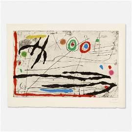 Joan Miró, Trace Sur La Paroi I