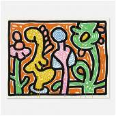 Keith Haring, Flowers IV
