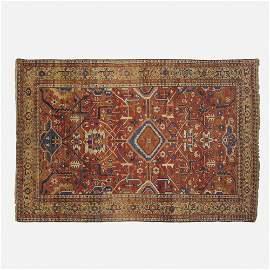 Heriz low pile carpet
