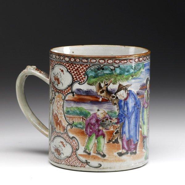 2: CHINESE EXPORT Cider mug