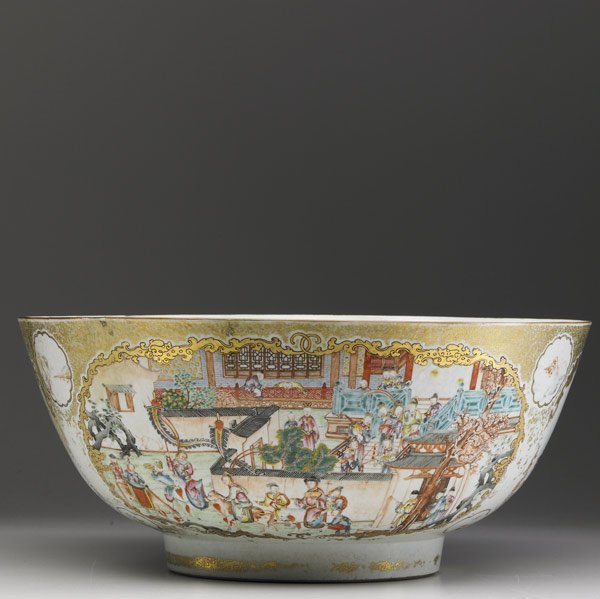 5: CHINESE EXPORT Punchbowl