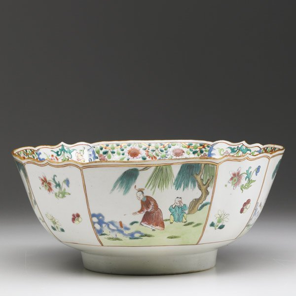 17: CHINESE EXPORT Deep bowl