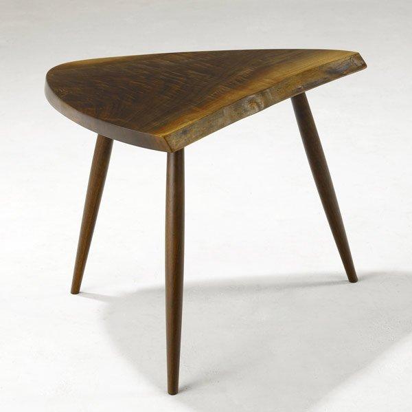 4A: GEORGE NAKASHIMA Walnut Side Table