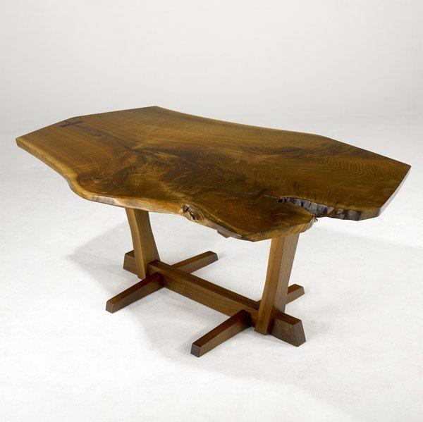 5: GEORGE NAKASHIMA Walnut Conoid Dining Table