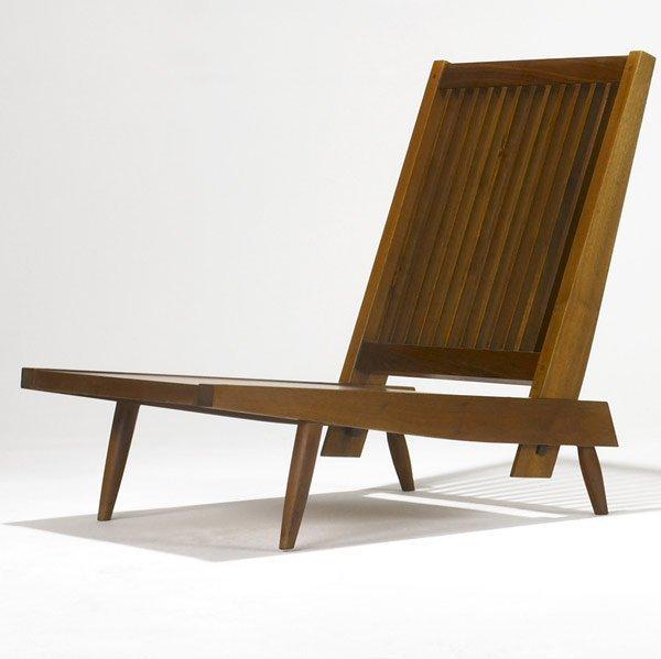 6: GEORGE NAKASHIMA Early Walnut Cushion Chair