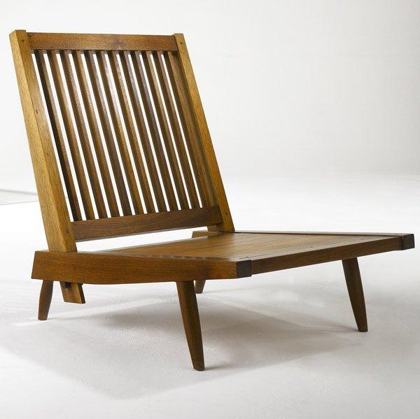 7: GEORGE NAKASHIMA Early Walnut Cushion Chair