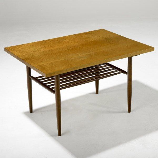 14: GEORGE NAKASHIMA Maple Side Table