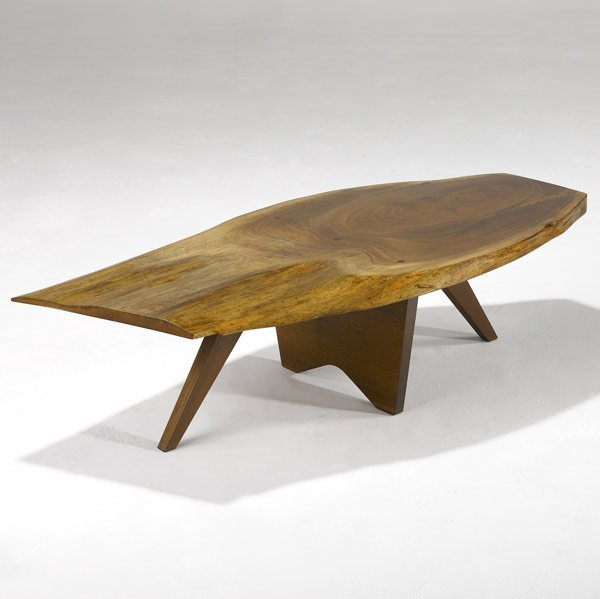 19: GEORGE NAKASHIMA Early Walnut Coffee Table