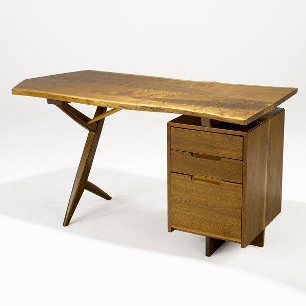 329: GEORGE NAKASHIMA Conoid Desk