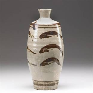 418: BERNARD LEACH Ceramic vessel