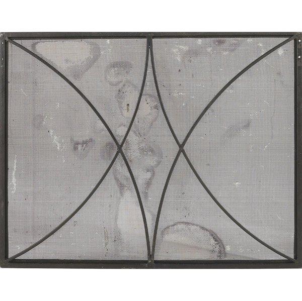 602: RAYMOND SUBES (Attr.) Fireplace screen