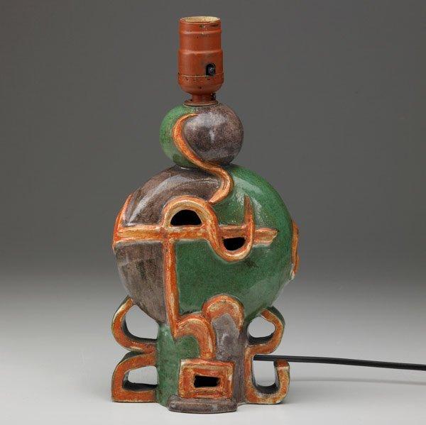 612: VALLY WIESELTHIER / WIENER WERKSTATTE Lamp Base