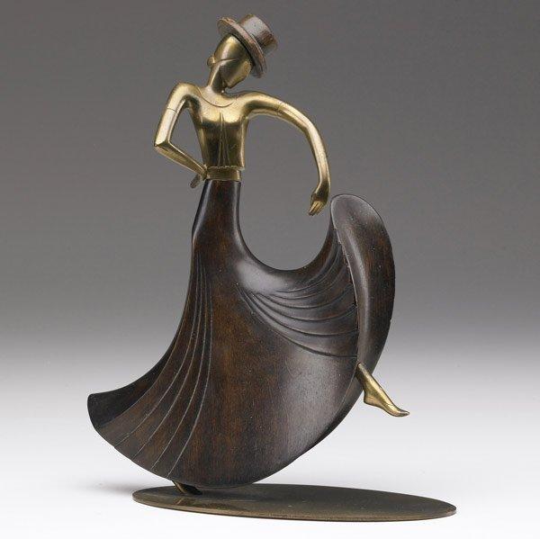 622: FRANZ HAGENAUER Sculpture of female dancer
