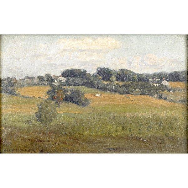 7: Alexis Jean Fournier (American, 1865-1948) Hillside