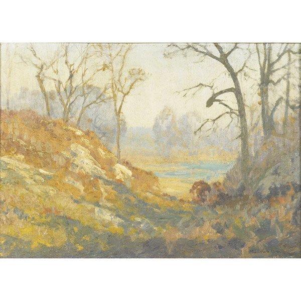 10: Maurice Braun (American, 1877-1941) Lake at Mount K