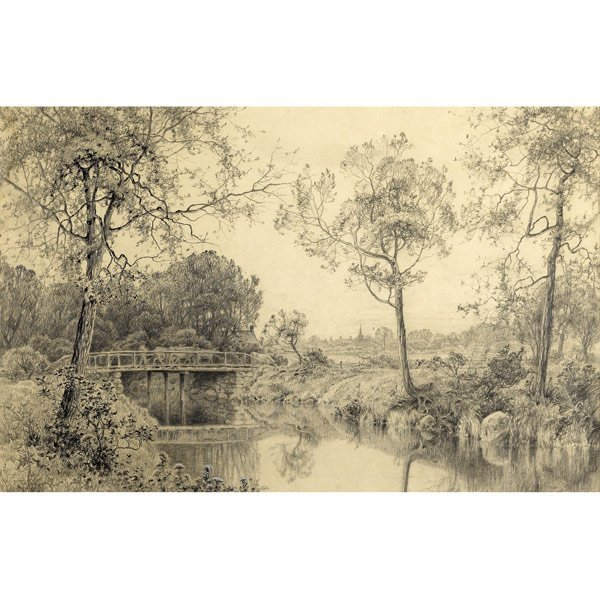 13: Attributed to William Trost Richards (American, 183