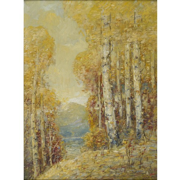 14: Paul Bernard King (American, 1867-1947) Whiteface M
