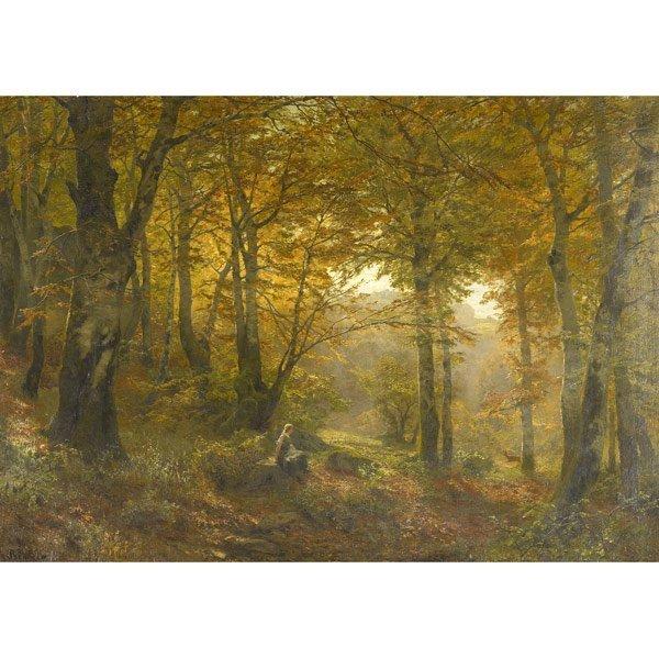 18: Heinrich Bohmer (German, 1852-1930) Untitled; Oil o