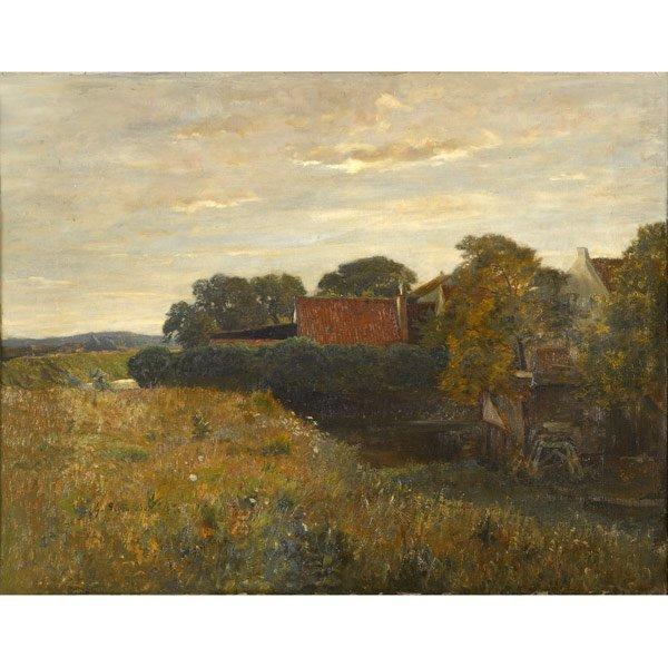 19: Gustav Schoenleber (Dutch, 1851-1917) Untitled, 189