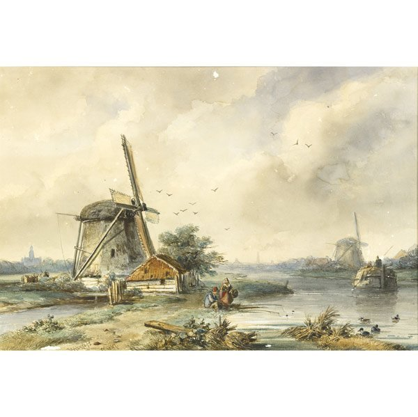 20: Willem Roelofs (Dutch, 1822-1897) Untitled, 1847; W