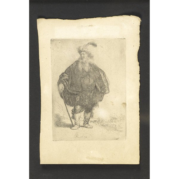 23: Rembrandt van Rijn (Dutch, 1606-1669) The Persian,