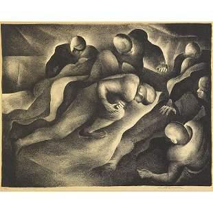 77: Benton Murdoch Spruance (American, 1904-1967) Spinn